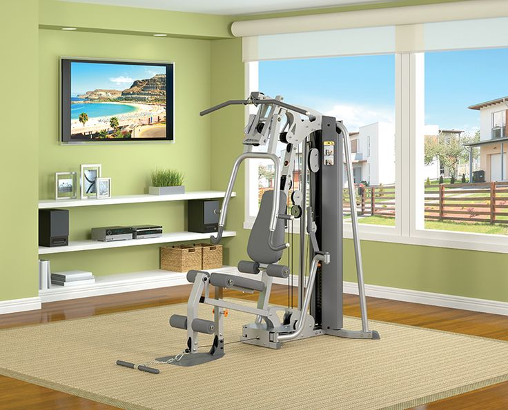 home exercise room  | Commercial and Home Fitness equipment - Life-Fitness