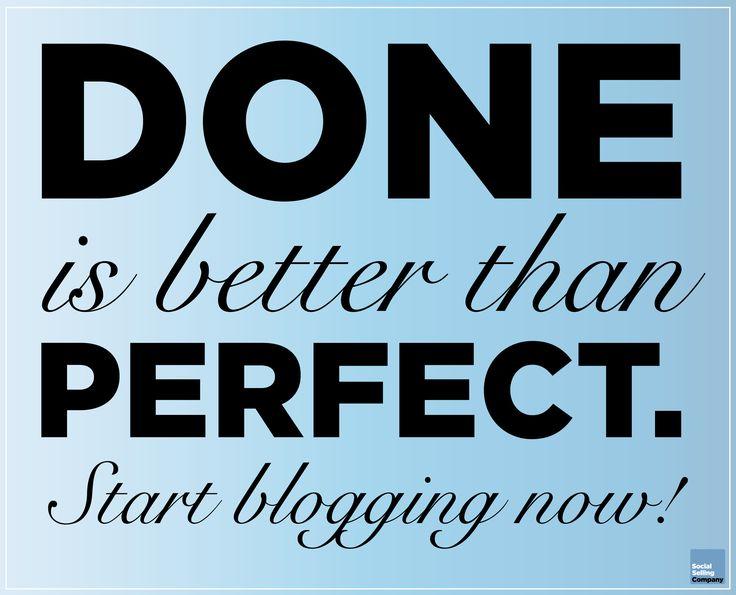 """Vi har holdt social selling workshop hele dagen hos Momentum Academy DK, og vi talte flere gange om, at """"Done is better than perfect"""" når det gælder om at lave Pulse blogindlæg.   Opfordringen er hermed givet videre til alle 😊   Start blogging now!"""