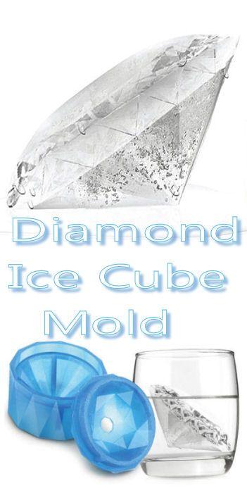 Diamond Ice Cube Mold