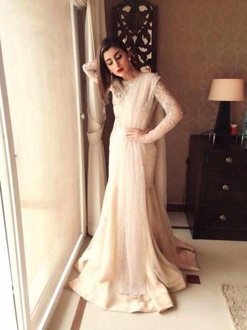 highfashionpakistan: Pakistani actress Sohai Ali Abro wearing Zara Shahjahan for her movie, Wrong No's promotion.