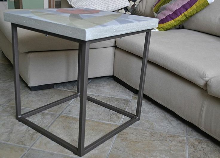 Tavolo cemento ~ Oltre fantastiche idee su vernice per cemento su