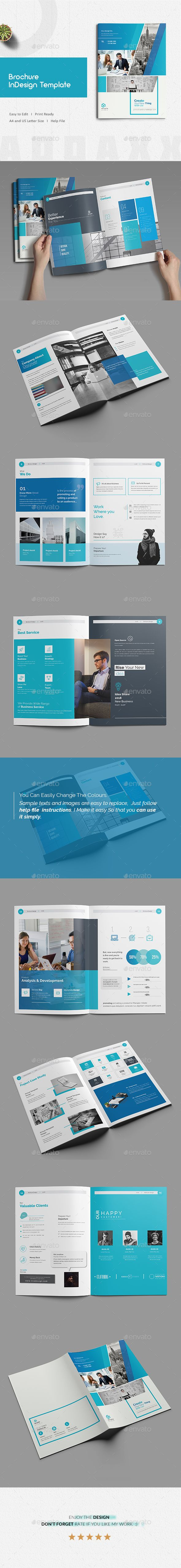 Best Brochure Indesign Template Images On Pinterest Indesign - Brochure indesign templates