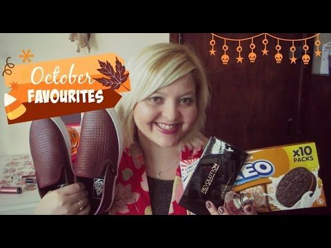 October Favourites | Peanut Butter Oreo, Revlon, Vans & More