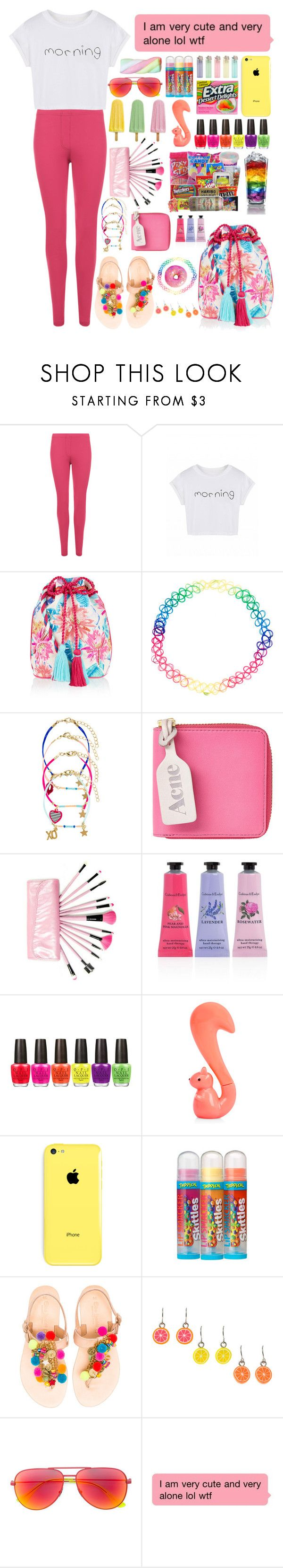 """""""Untitled #89"""" by fulla20o0 ❤ liked on Polyvore featuring WearAll, Accessorize, Acne Studios, Crabtree & Evelyn, OPI, Bonne Bell, Elina Linardaki and Yves Saint Laurent"""