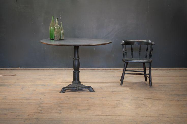 Vintage Cast Iron Vintners Cellar Table : Factory 20