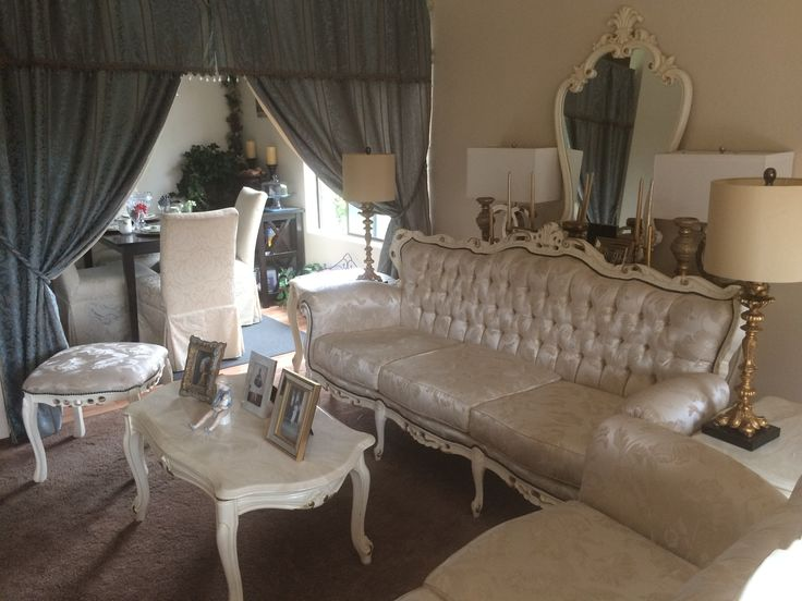 """My Home - French Provincial/French Country/Traditional Living Room """"Faithful"""""""