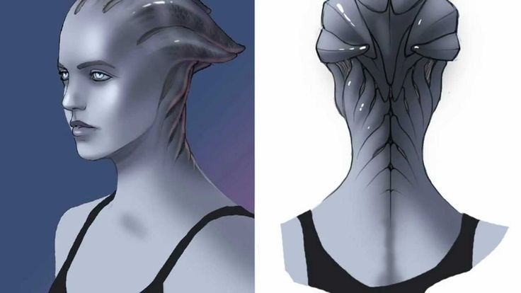 Mass Effect - Creating the Asari - Game Informer - YouTube