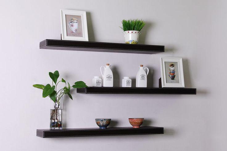Contemporary Floating Shelves