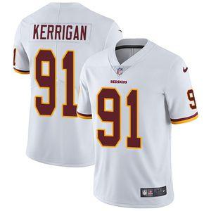 Nike Redskins #91 Ryan Kerrigan White Men's Stitched NFL Vapor Untouchable Limited Jersey