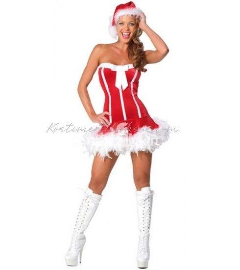 Sød Nissepige Kostumer Frække Jul Kostume