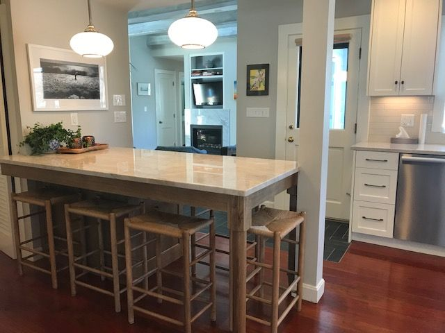 These Stools Are What We Call Our Narrow Counter Stool Designed To Hideaway When You Are Done Using Them These Were Done Counter Stools Stool Bar Stools