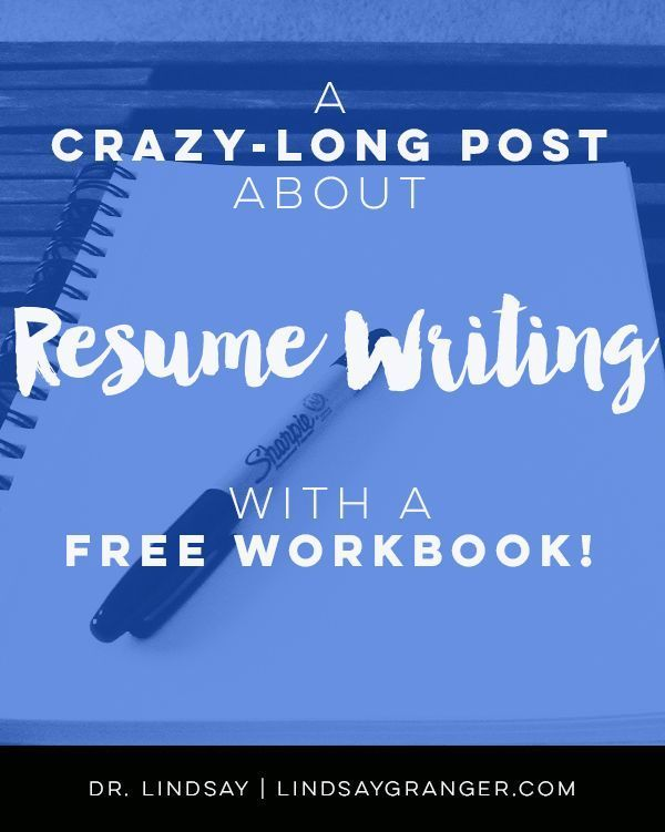 Everything you've ever wanted and needed to know about resume writing  is in this 3000+ word post. AND you get an interactive workbook to practice! How dope is t