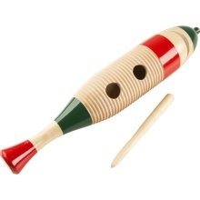 Latin Percussion CP249A Wood Fish Style Guiro