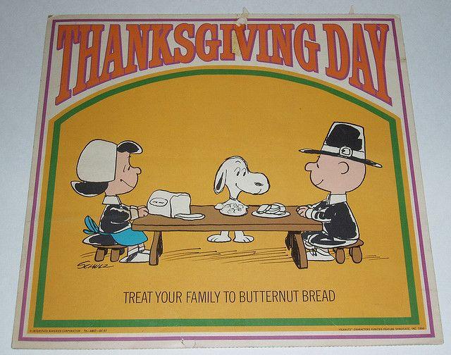 Peanuts Thanksgiving sign   Flickr - Photo Sharing!