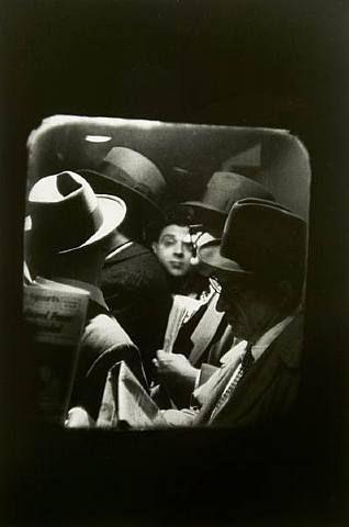 Louis Stettner, Odd Man in Penn Station, New York, 1958.