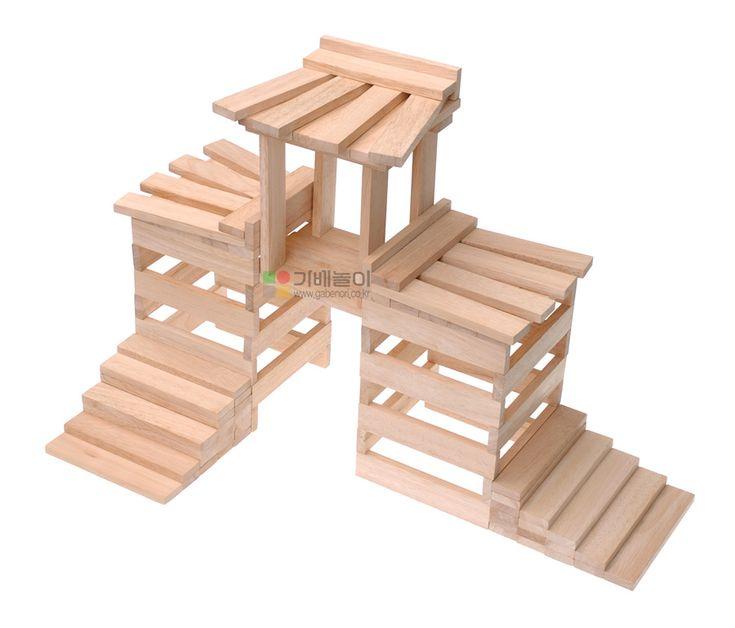 bouwvoorbeeld kapla