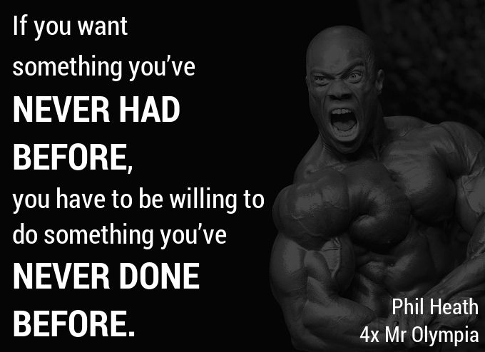 Phil Heath - 10 Hardcore #Bodybuilding Quotes to #Motivate you in the #Gym