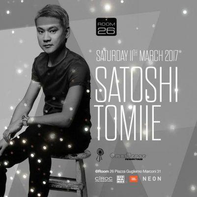 Satoshi Tomiie Room26 sabato 11 marzo 2017