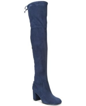 Charles by Charles David Ollie Stretch Over-The-Knee Boots - Blue 5M
