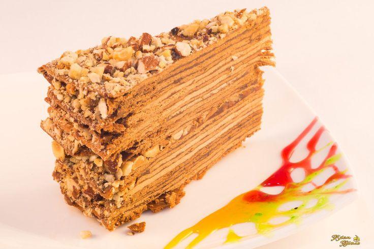 Торт золотой ключик рецепт фото