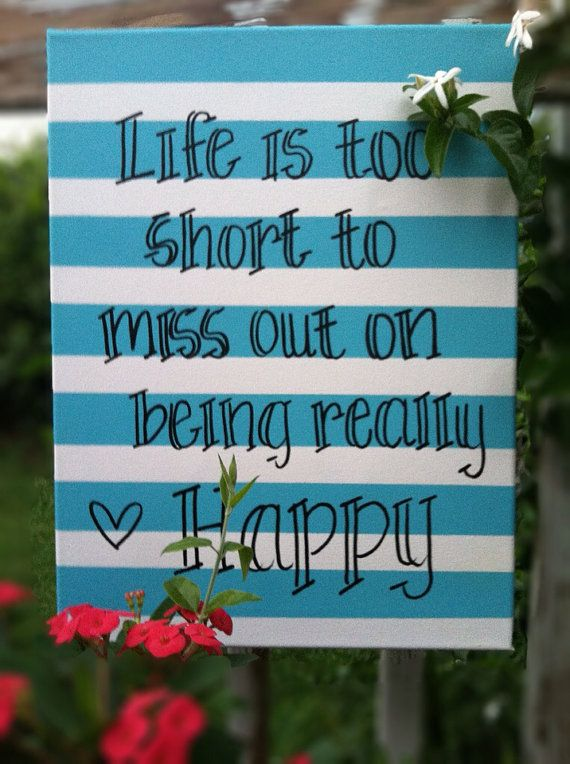 Inspirational Canvas Quote by RibbonsAndPearlsss on Etsy