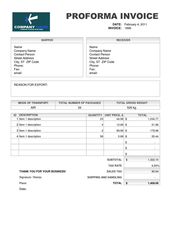 11 best work images on Pinterest Invoice template, Invoice - sample proforma invoice