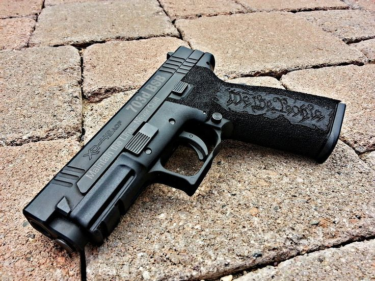 Custom Springfield Xd 45 Acp By Weapon Worx Guns Hand