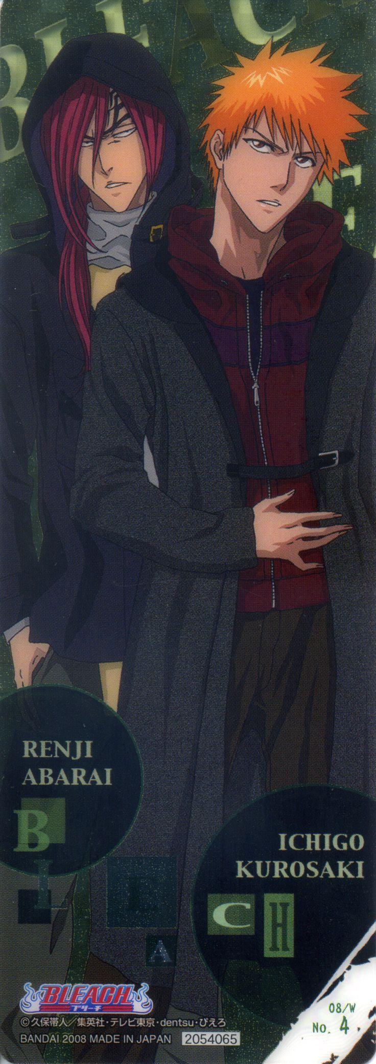 Studio Pierrot, Bleach, Renji Abarai, Ichigo Kurosaki, Stick Poster