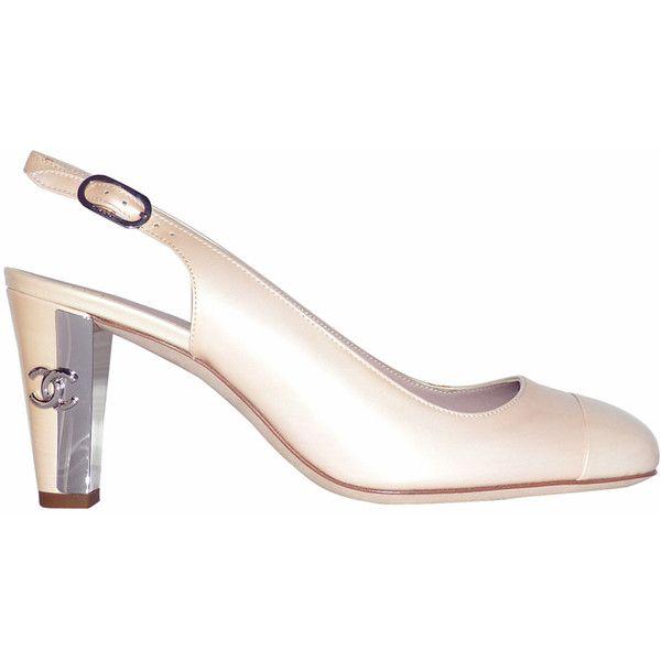 depot vente de luxe en ligne - Luxury Eshop online - CHANEL escarpins cuir verni rose pale talons miroir | TendanceShopping.com