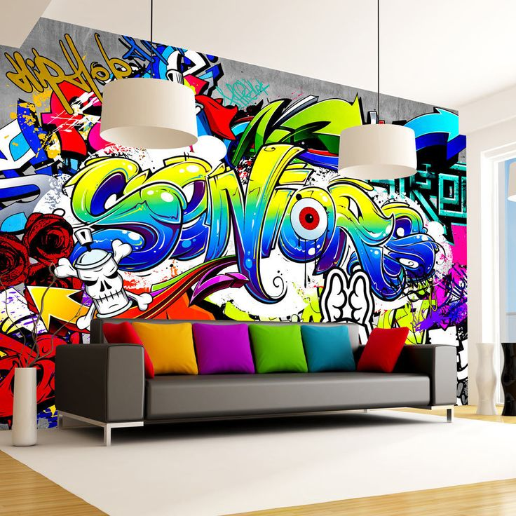 Die besten 25+ Graffiti Tapete Ideen auf Pinterest Overwatch - tapeten und farben