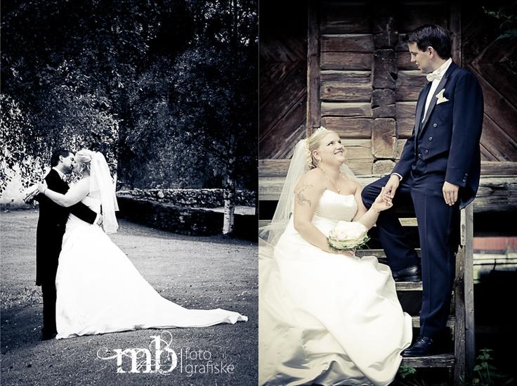 Bryllupsbilder av Isabell og Kenneth