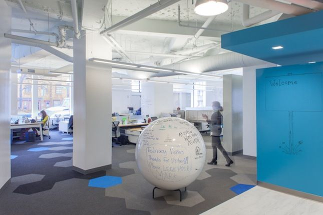 how about a hello space for your office - Office Makeover Contest