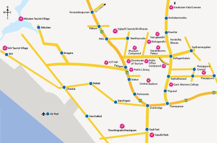 Map - Onam Festival 2013