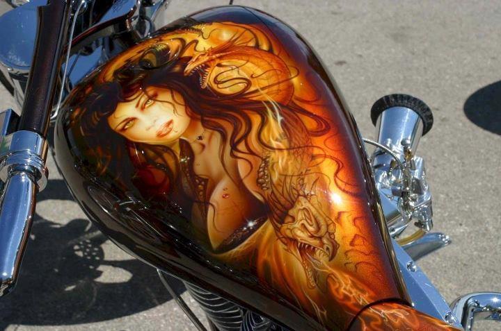 Airbrush Custom Paint