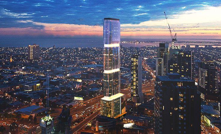 Torre de 60 pavimentos maximiza a captação de energia com fachada fotovoltaica