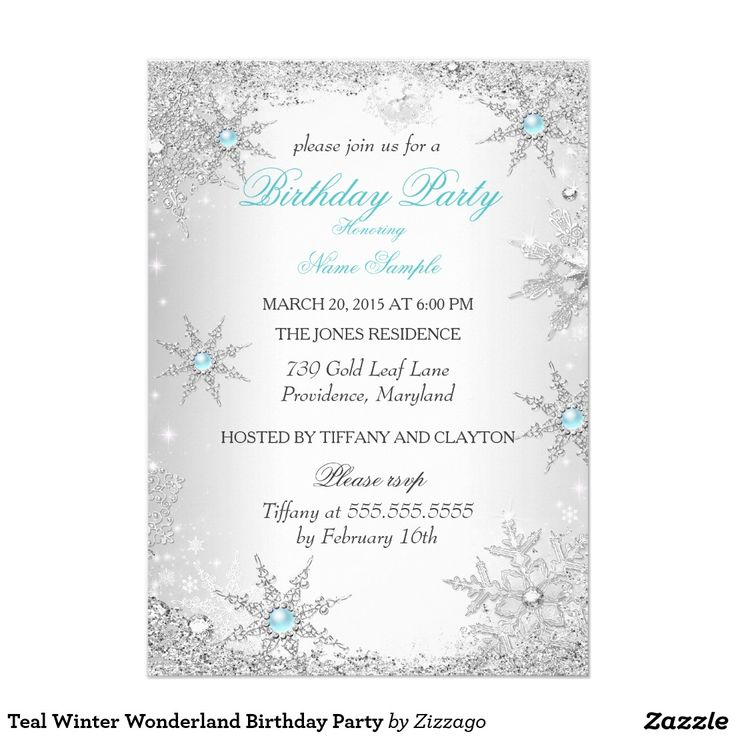 391 best Birthday Party Invitations images on Pinterest | Birthday ...