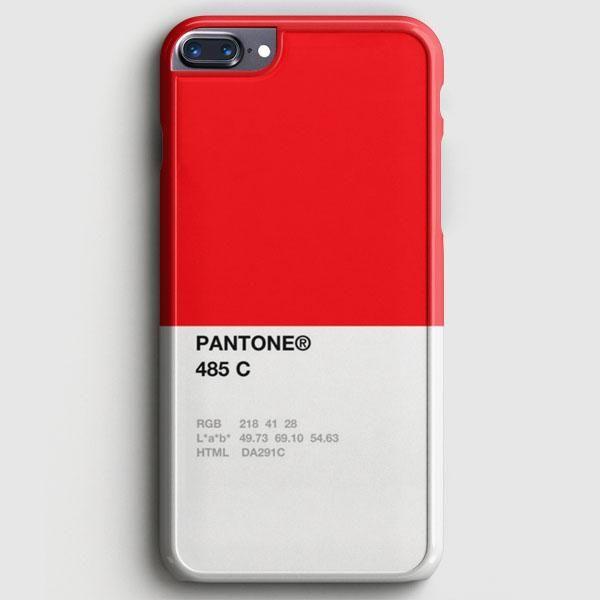 Pantone 485 C iPhone 8 Plus Case