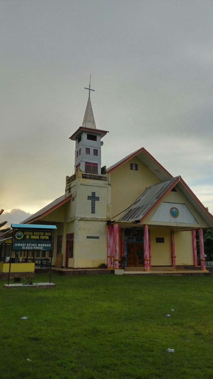 gereja GKI Bethel mambor