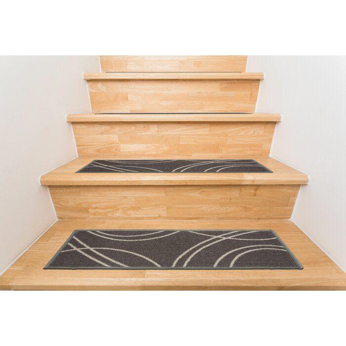 Best Youenn Gray Beige Stair Tread Stair Treads Stair Tread 400 x 300