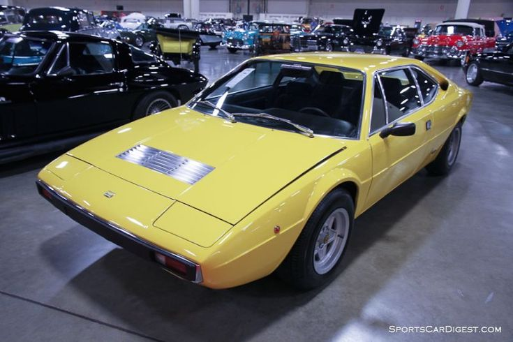 1975 Ferrari Dino 208 GT4 Coupe, Body by Bertone