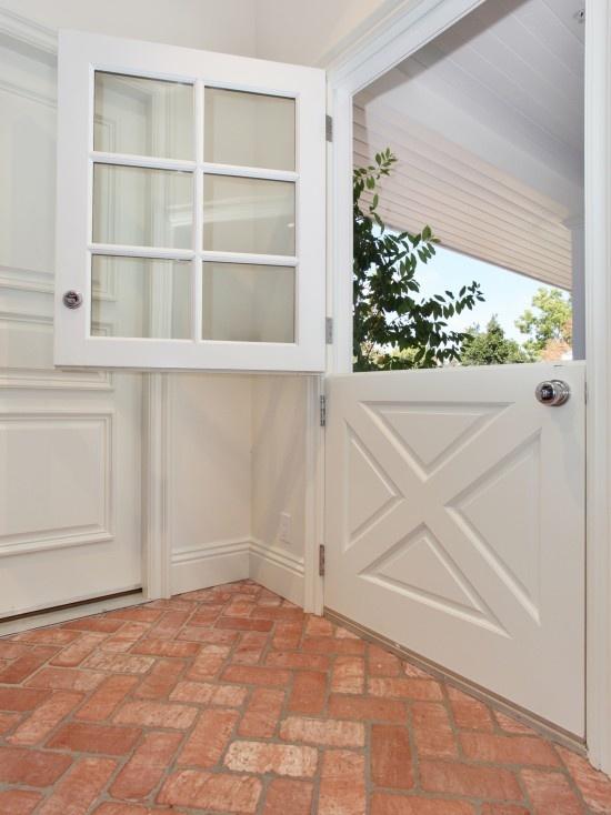 Dutch door nice for a back door dream home pinterest for Back doors for homes