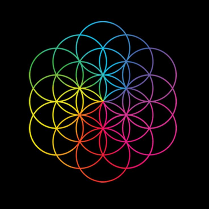 The Flower of Life on Coldplay's new (and awesome) album that I'm dying to get-- It's called A Head Full of Dreams.
