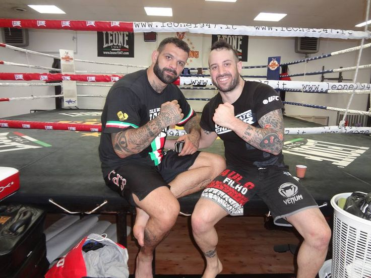 Training M.M.A. with Alessio Sakara Ufc Fighter  , Roma 2014