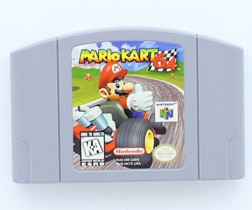 #Mario #Kart #64 1996 #Mario #Kart #64, one of the first games released for the Nintendo #64  platform, is an updated translation of the very popular Super #Mario #Kart for the  Super NES (SNES). And while the game clearly takes full advantage of the graphics  power and speed of the N64, https://technology.boutiquecloset.com/product/mario-kart-64/