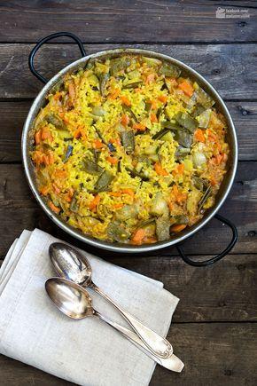 Vegetarische Paella de Verduras   Madame Cuisine Rezept