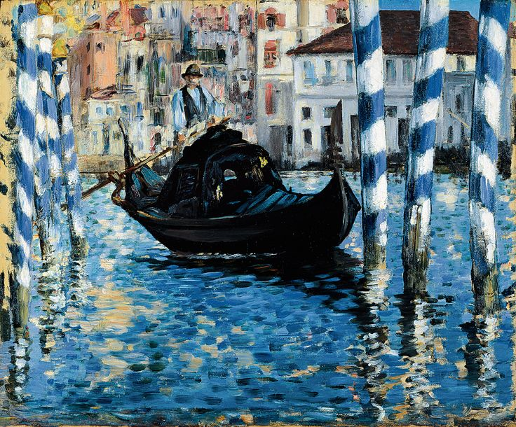 Édouard Manet: The Grand Canal, Venice (Blue Venice), 1875, oil on canvas