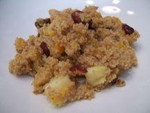 Breakfast for mummies (Couscous breakfast cereal)