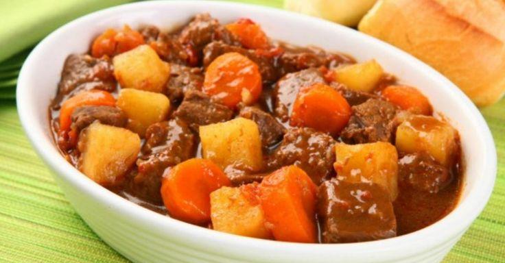 Não Perca!l Aprenda a preparar carne de panela com cenoura e batata - # #batata #carnepanela #cenoura