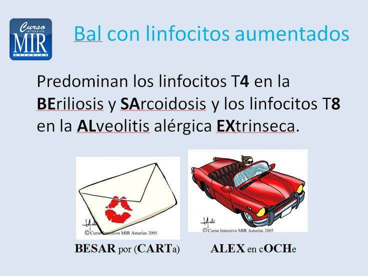 Bal con linfocitos aumentados - #Neumología