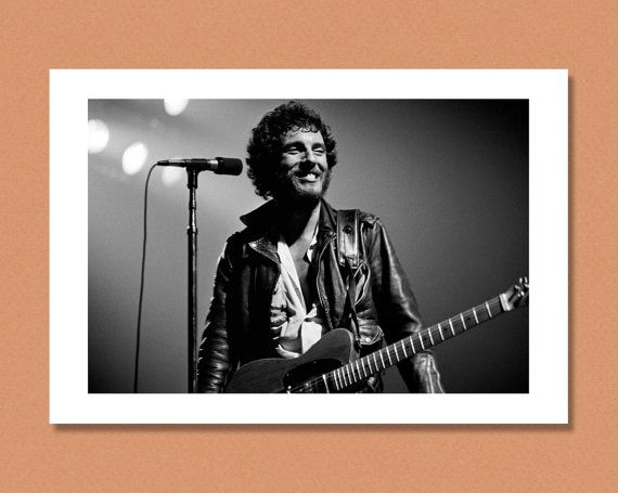 BRUCE SPRINGSTEEN Live Born to Run US Tour 1975 by PEMONPRINTS